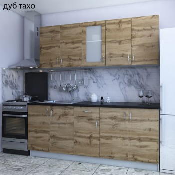 Кухня Горизонт дуб тахо
