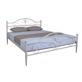 Кровать Патриция двуспальная металл