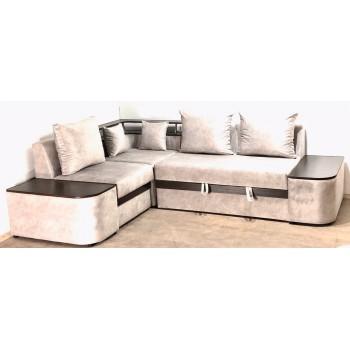 Угловой диван Монреаль + 2 тумбы